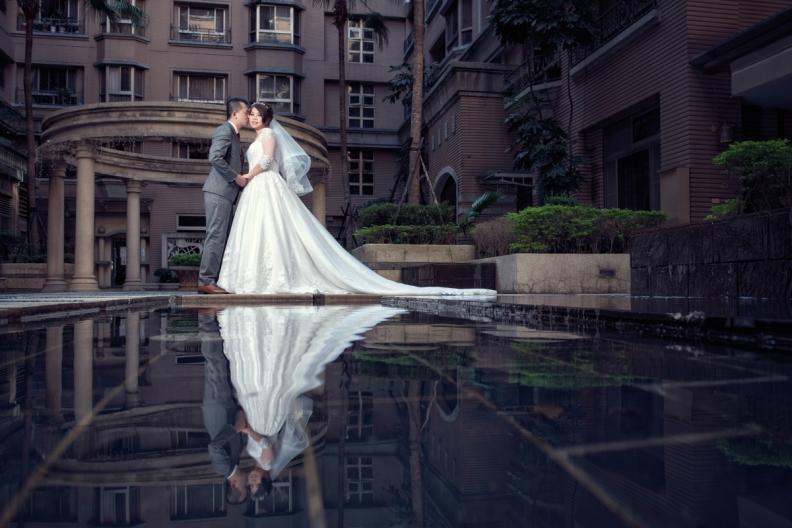 杰儒&念蓁-新板希爾頓酒店婚禮紀錄-003