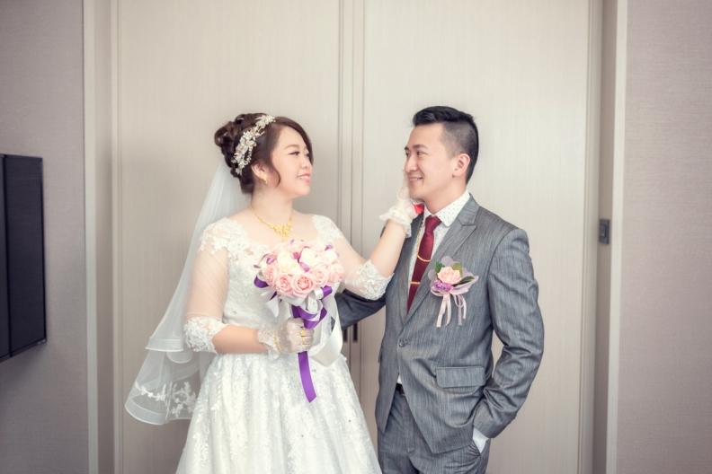 杰儒&念蓁-新板希爾頓酒店婚禮紀錄-012