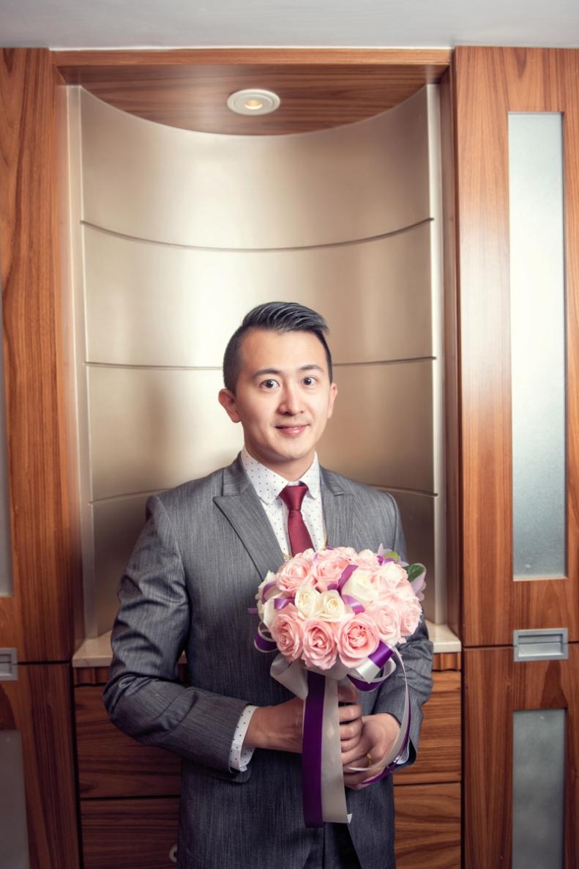 杰儒&念蓁-新板希爾頓酒店婚禮紀錄-021