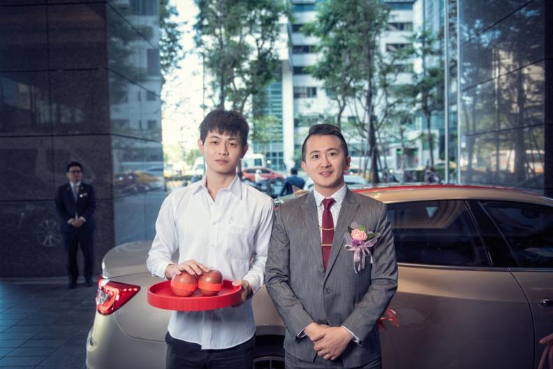 杰儒&念蓁-新板希爾頓酒店婚禮紀錄-028