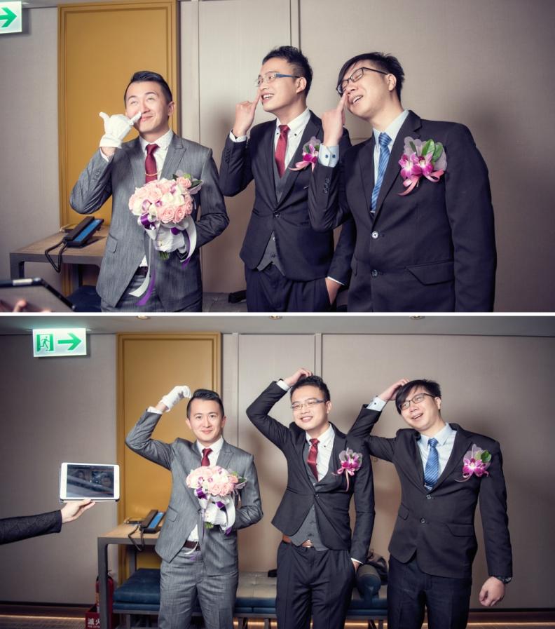 杰儒&念蓁-新板希爾頓酒店婚禮紀錄-029