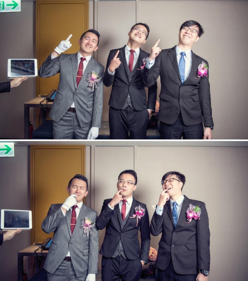 杰儒&念蓁-新板希爾頓酒店婚禮紀錄-030