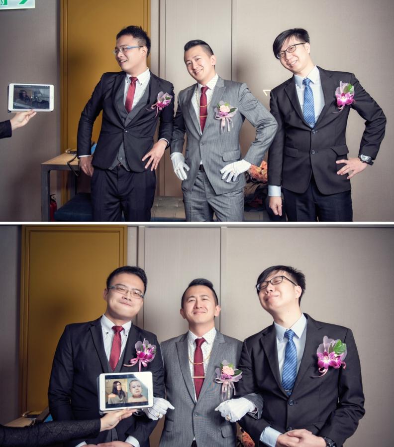 杰儒&念蓁-新板希爾頓酒店婚禮紀錄-031