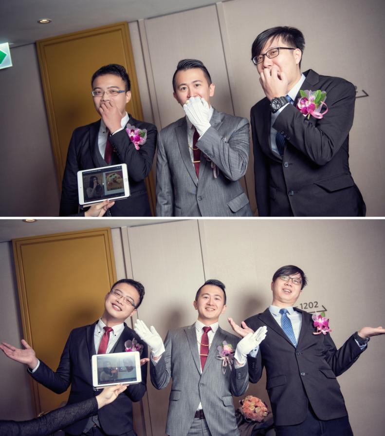 杰儒&念蓁-新板希爾頓酒店婚禮紀錄-032