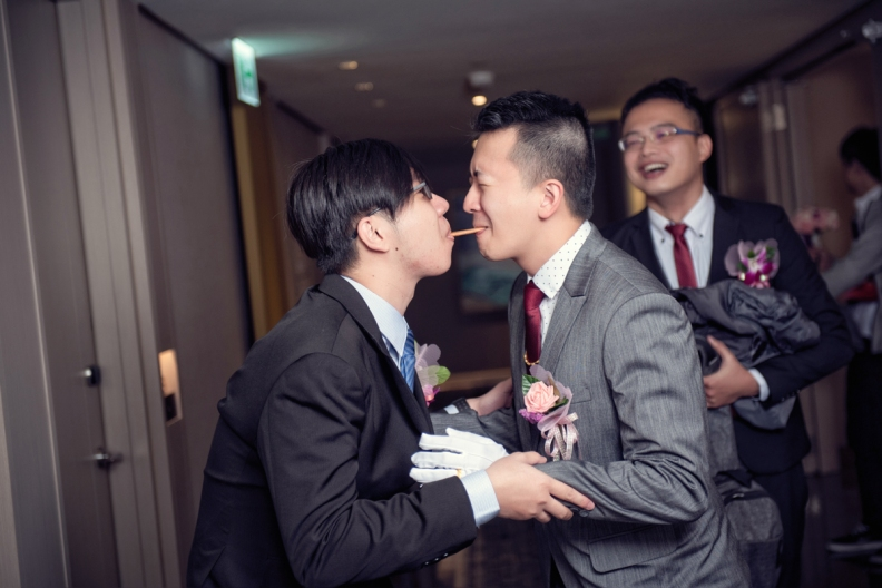 杰儒&念蓁-新板希爾頓酒店婚禮紀錄-034