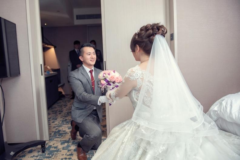 杰儒&念蓁-新板希爾頓酒店婚禮紀錄-037