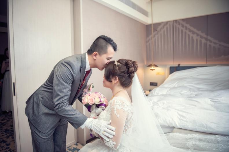 杰儒&念蓁-新板希爾頓酒店婚禮紀錄-038