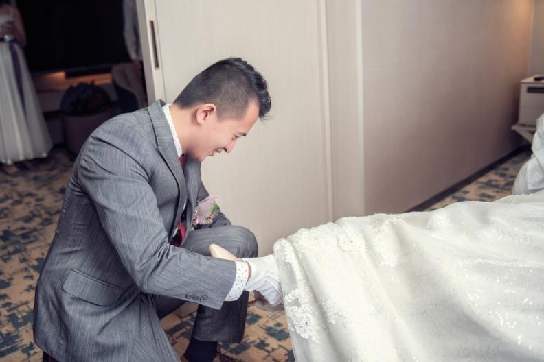 杰儒&念蓁-新板希爾頓酒店婚禮紀錄-039