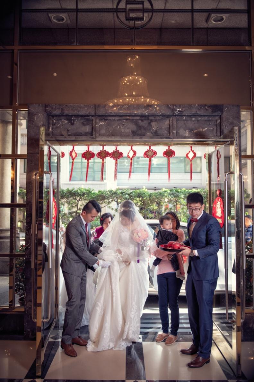 杰儒&念蓁-新板希爾頓酒店婚禮紀錄-053