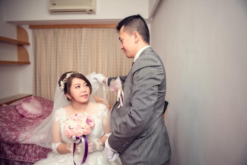 杰儒&念蓁-新板希爾頓酒店婚禮紀錄-054