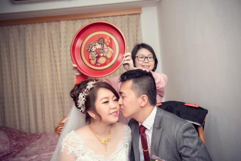 杰儒&念蓁-新板希爾頓酒店婚禮紀錄-056