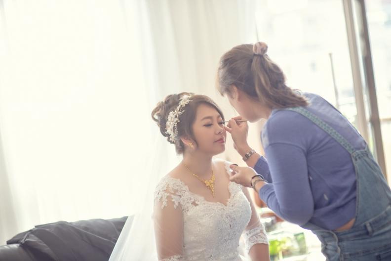 杰儒&念蓁-新板希爾頓酒店婚禮紀錄-058