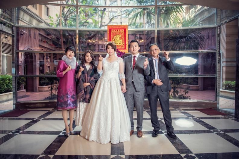 杰儒&念蓁-新板希爾頓酒店婚禮紀錄-062