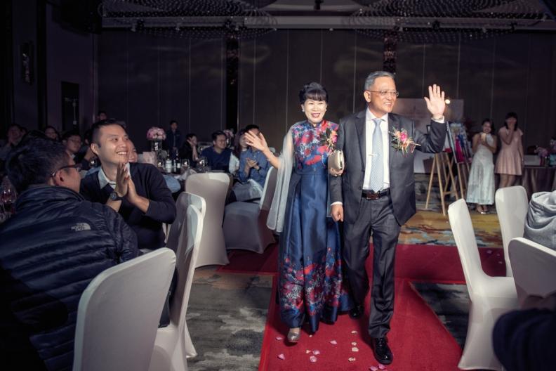 杰儒&念蓁-新板希爾頓酒店婚禮紀錄-074