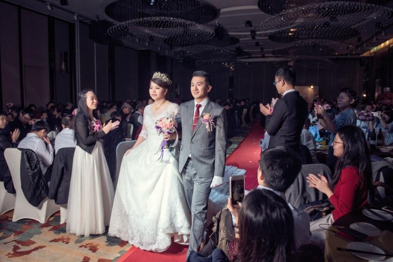 杰儒&念蓁-新板希爾頓酒店婚禮紀錄-083