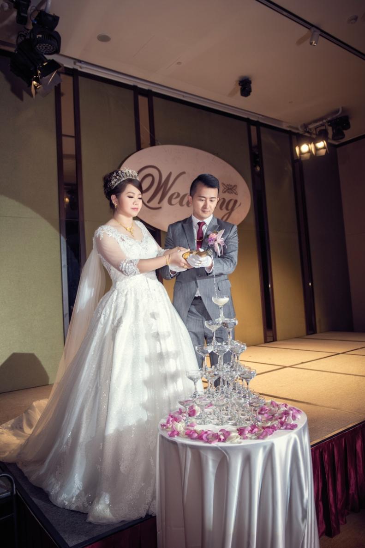 杰儒&念蓁-新板希爾頓酒店婚禮紀錄-084