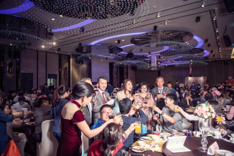 杰儒&念蓁-新板希爾頓酒店婚禮紀錄-096