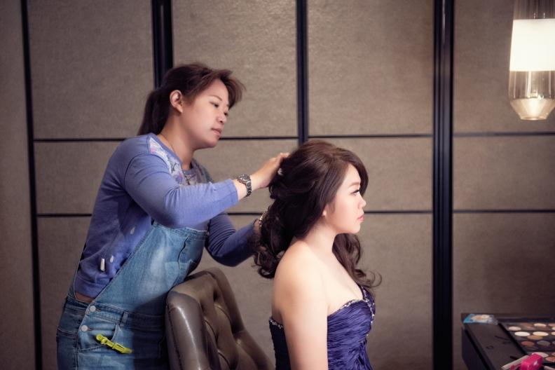 杰儒&念蓁-新板希爾頓酒店婚禮紀錄-097