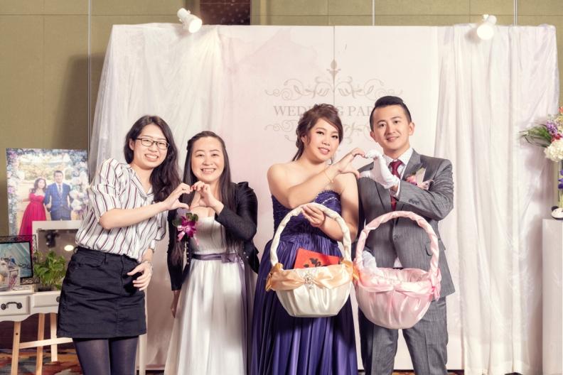 杰儒&念蓁-新板希爾頓酒店婚禮紀錄-099