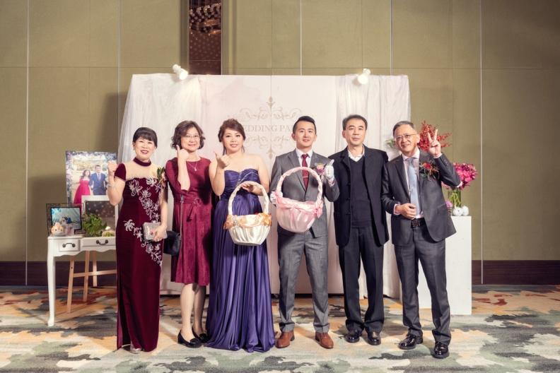 杰儒&念蓁-新板希爾頓酒店婚禮紀錄-100